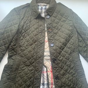 Burberry Brit Military Green Jacket